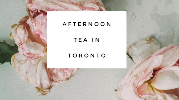 Afternoon Tea inToronto